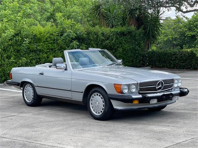 1986 Mercedes-Benz 560SL (CC-1509770) for sale in Boca Raton, Florida