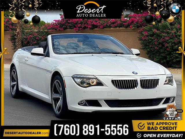 2010 BMW 650I (CC-1509794) for sale in Palm Desert, California