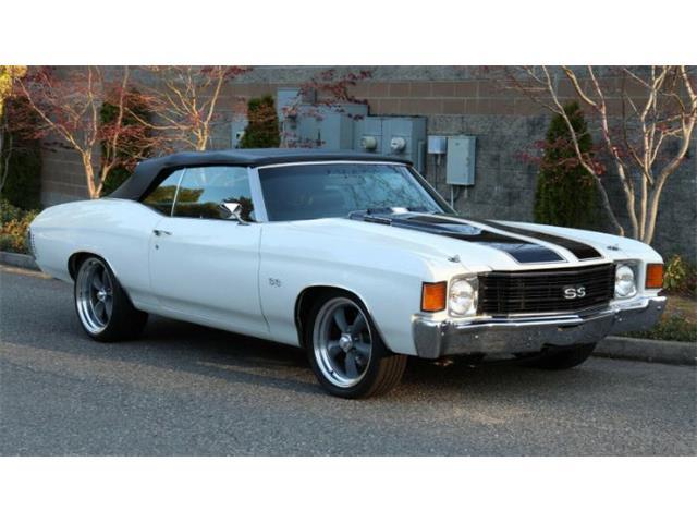 1972 Chevrolet Chevelle (CC-1509826) for sale in Cadillac, Michigan