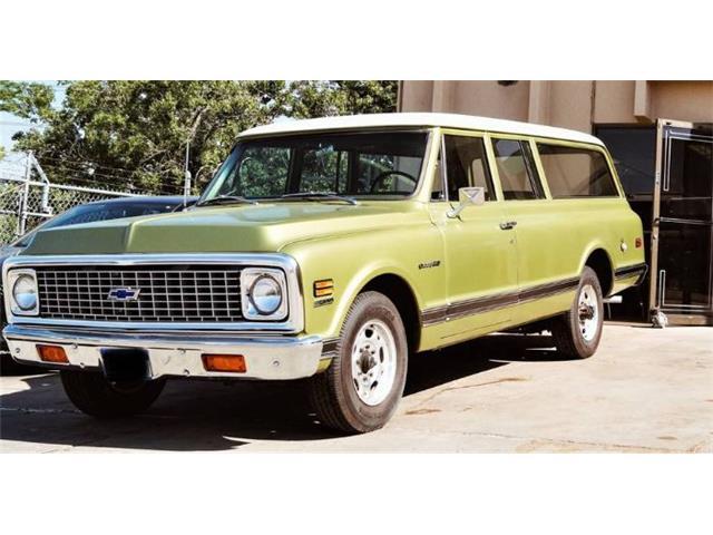 1971 Chevrolet Suburban (CC-1509948) for sale in Cadillac, Michigan