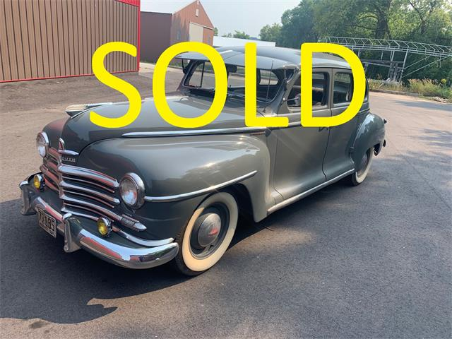1947 Plymouth Special Deluxe (CC-1511203) for sale in Annandale, Minnesota