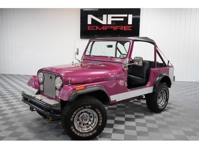 1977 Jeep CJ7 (CC-1511219) for sale in North East, Pennsylvania