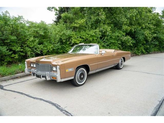 1976 Cadillac Eldorado (CC-1511645) for sale in Cadillac, Michigan