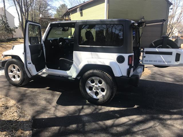 2013 Jeep Wrangler (CC-1511764) for sale in Abingron, Massachusetts