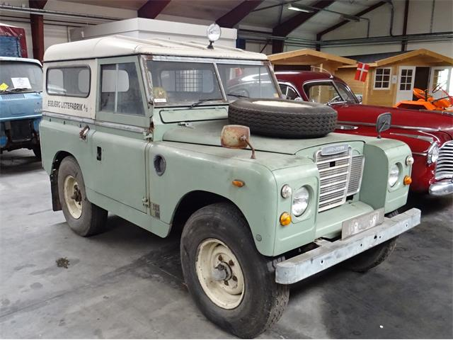 1969 Land Rover Series IIA (CC-1511778) for sale in Langeskov, Denmark