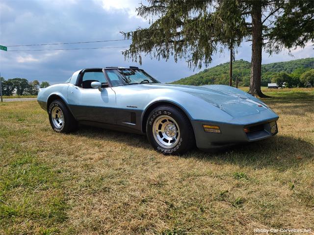 1982 Chevrolet Corvette (CC-1512065) for sale in martinsburg, Pennsylvania