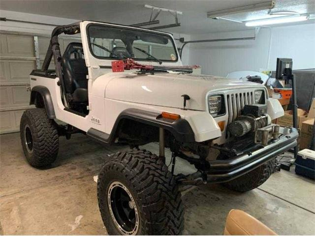 1988 Jeep Wrangler (CC-1512248) for sale in Cadillac, Michigan