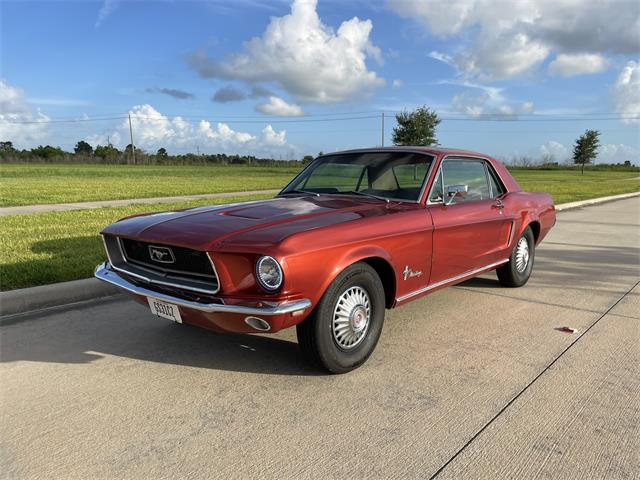 1968 Ford Mustang (CC-1512398) for sale in Friendswood, Texas