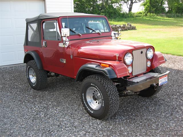 1984 Jeep CJ7 (CC-1512492) for sale in Salem, Ohio