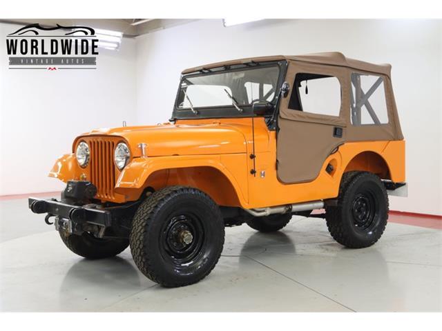 1968 Jeep CJ (CC-1512572) for sale in Denver , Colorado