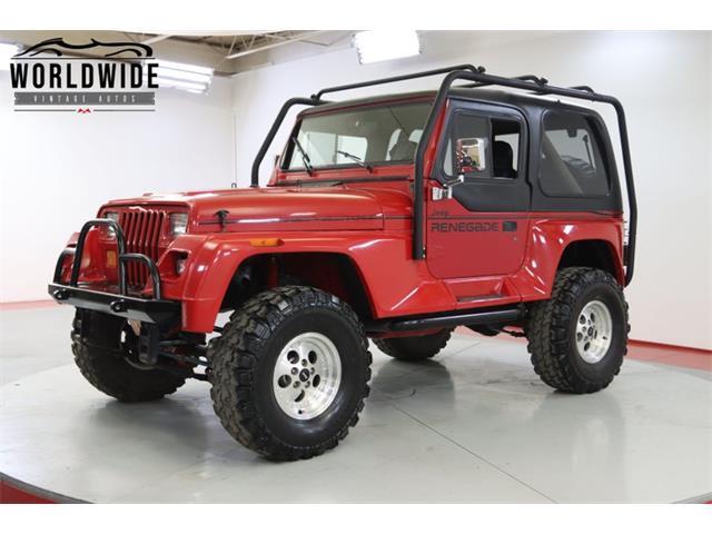 1991 Jeep Wrangler (CC-1512574) for sale in Denver , Colorado