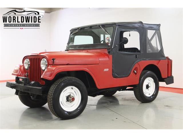 1962 Jeep Willys (CC-1512948) for sale in Denver , Colorado
