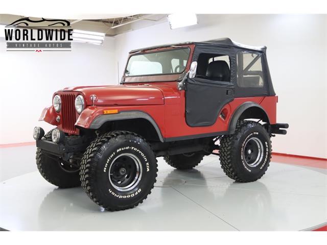 1956 Jeep CJ (CC-1512951) for sale in Denver , Colorado