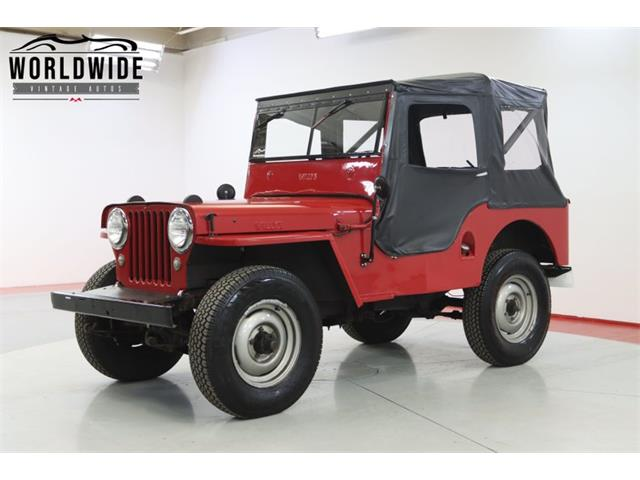 1947 Jeep Willys (CC-1512953) for sale in Denver , Colorado