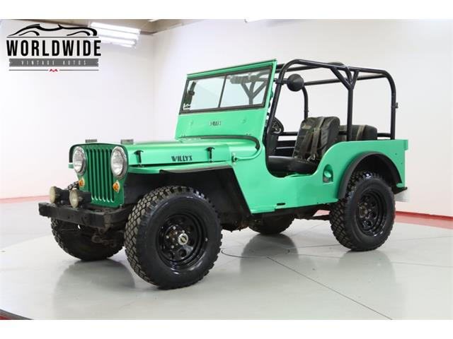 1948 Jeep Willys (CC-1512961) for sale in Denver , Colorado