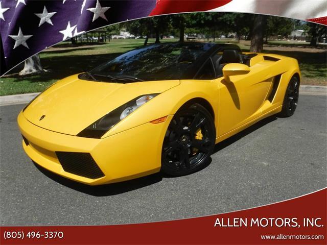 2008 Lamborghini Gallardo (CC-1513027) for sale in Thousand Oaks, California