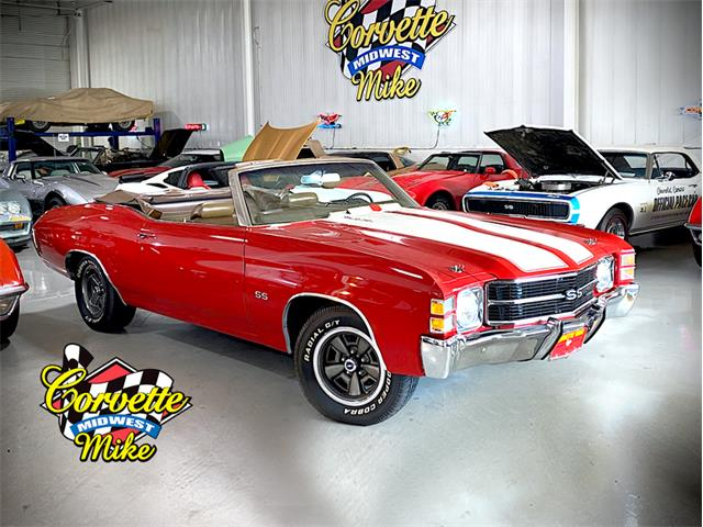 1971 Chevrolet Chevelle (CC-1513086) for sale in Burr Ridge, Illinois