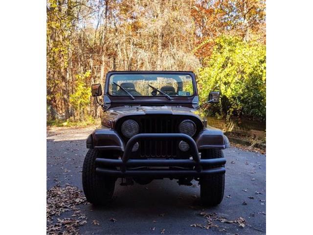 1984 Jeep CJ7 (CC-1513125) for sale in Cadillac, Michigan