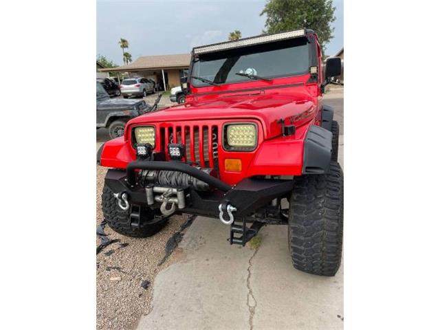 1989 Jeep Wrangler (CC-1513143) for sale in Cadillac, Michigan