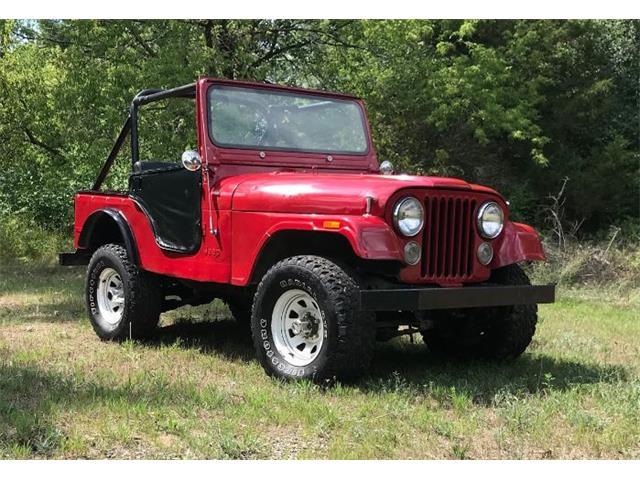 1974 Jeep CJ5 (CC-1513149) for sale in Cadillac, Michigan