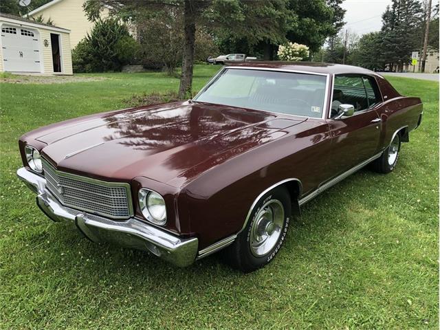 1970 Chevrolet Monte Carlo (CC-1513249) for sale in Covington, Pennsylvania