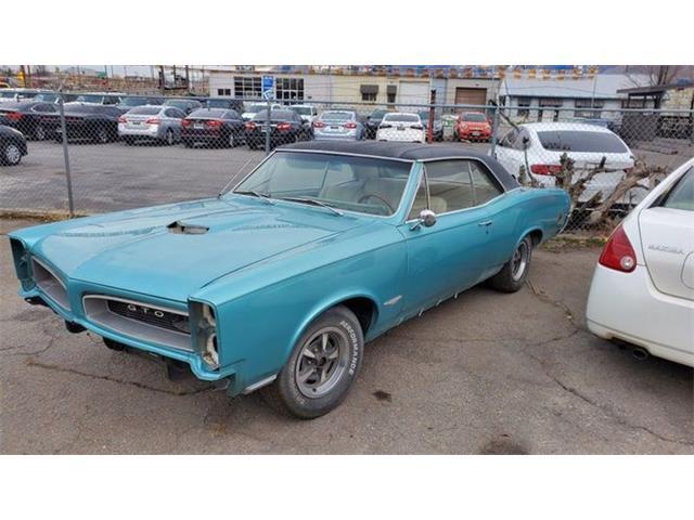 1966 Pontiac GTO (CC-1513345) for sale in Cadillac, Michigan