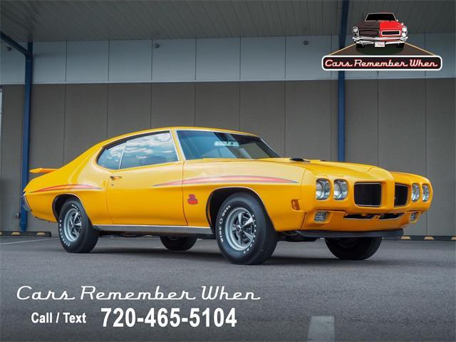1970 Pontiac GTO (CC-1513748) for sale in Englewood, Colorado