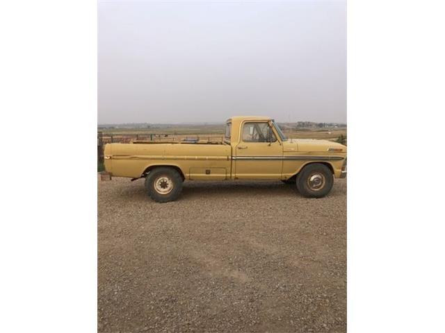 1972 Ford F250 (CC-1513754) for sale in Cadillac, Michigan