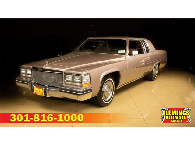 1984 Cadillac Coupe (CC-1513770) for sale in Rockville, Maryland