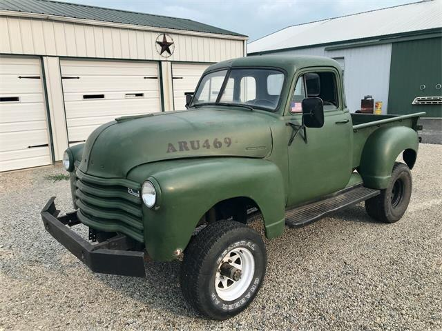 1950 Chevrolet 3100 (CC-1513784) for sale in Knightstown, Indiana