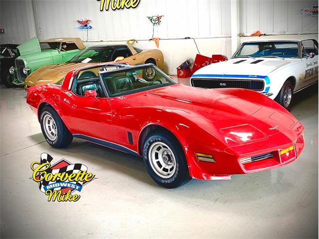1980 Chevrolet Corvette (CC-1513810) for sale in Burr Ridge, Illinois