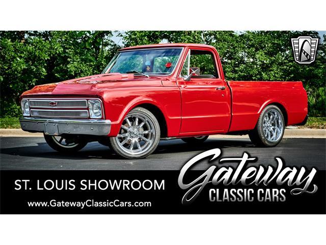 1967 Chevrolet C10 (CC-1513856) for sale in O'Fallon, Illinois