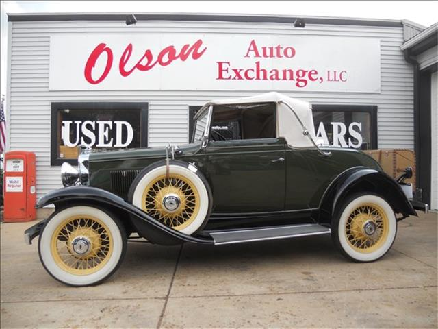 1931 Chevrolet Roadster (CC-1513895) for sale in STOUGHTON, Wisconsin