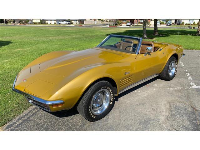 1972 Chevrolet Corvette (CC-1513920) for sale in Stanton, California