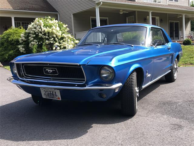 1968 Ford Mustang (CC-1514176) for sale in Chepachet, Rhode Island