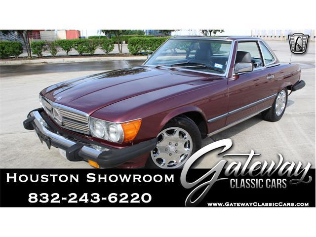 1986 Mercedes-Benz 560SL (CC-1514262) for sale in O'Fallon, Illinois