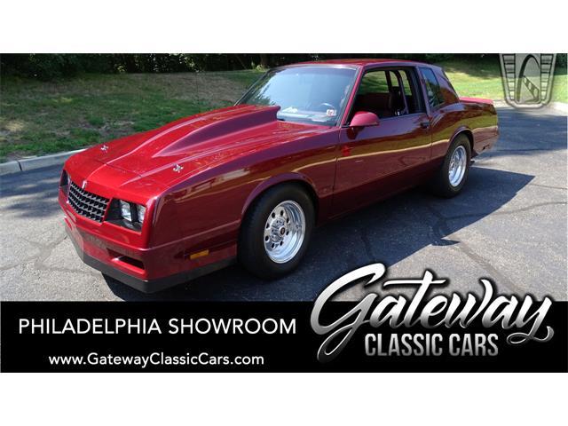 1987 Chevrolet Monte Carlo (CC-1514345) for sale in O'Fallon, Illinois
