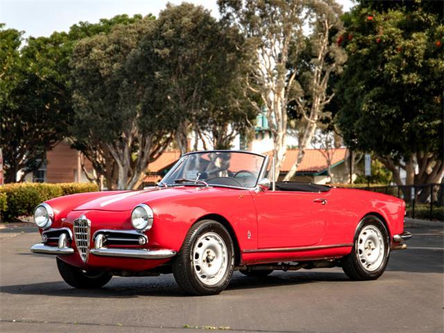 1960 Alfa Romeo Giulietta Spider (CC-1514354) for sale in Marina Del Rey, California