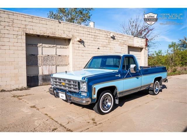 1977 Chevrolet C10 (CC-1510438) for sale in Milford, Michigan