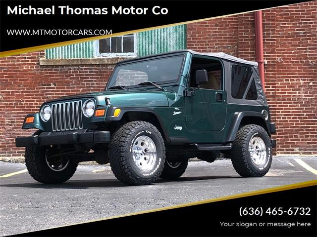 2000 Jeep Wrangler (CC-1514383) for sale in Saint Charles, Missouri
