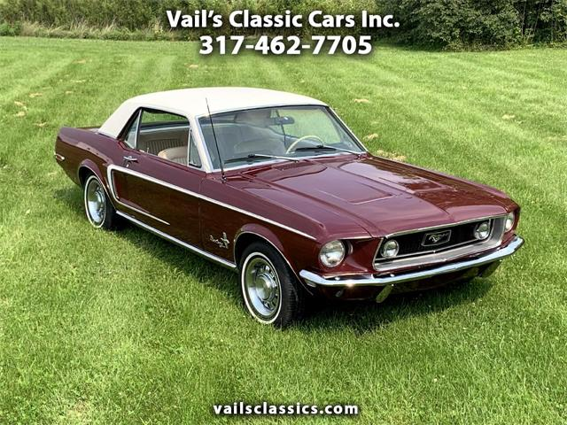 1968 Ford Mustang (CC-1514511) for sale in Greenfield, Indiana