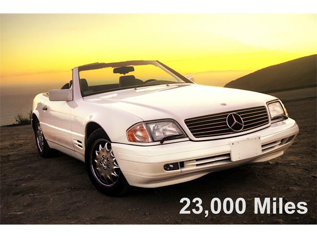 1996 Mercedes-Benz SL500 (CC-1514591) for sale in Los Angeles, California