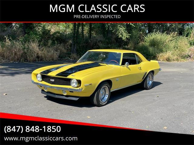 1969 Chevrolet Camaro (CC-1514625) for sale in Addison, Illinois