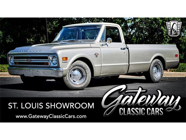 1968 Chevrolet C10 (CC-1514697) for sale in O'Fallon, Illinois