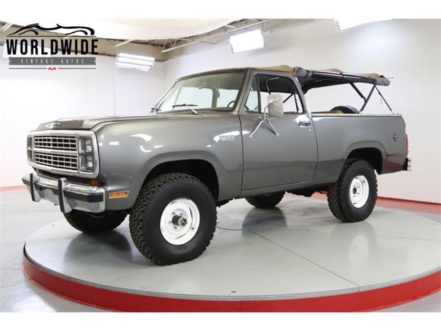 1980 Plymouth Trailduster (CC-1514809) for sale in Denver , Colorado