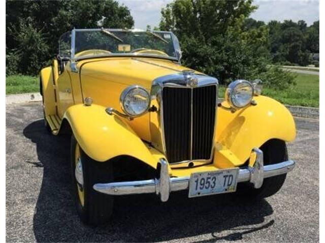 1953 MG TD (CC-1515052) for sale in St Louis, Missouri
