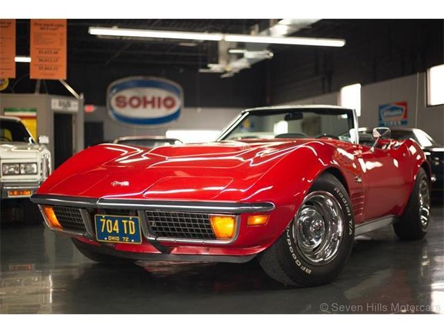 1972 Chevrolet Corvette (CC-1510515) for sale in Cincinnati, Ohio