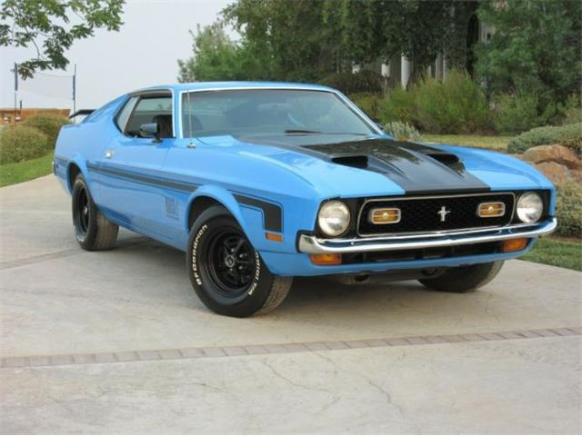 1972 Ford Mustang (CC-1515254) for sale in Cadillac, Michigan