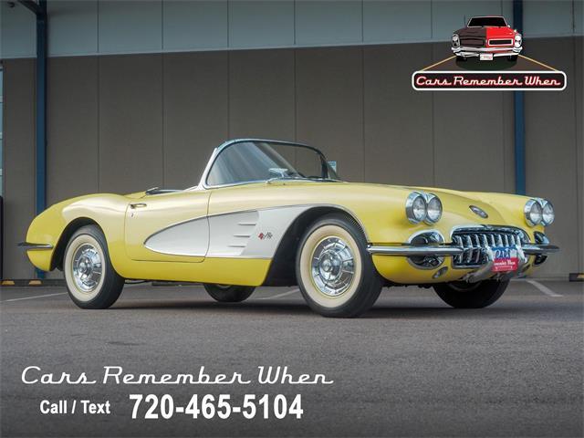 1958 Chevrolet Corvette (CC-1515285) for sale in Englewood, Colorado