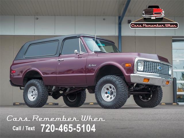1971 Chevrolet Blazer (CC-1515290) for sale in Englewood, Colorado